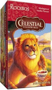 Celestial Seasonings Madagascar Vanilla Rooibos Tea 20Teabags