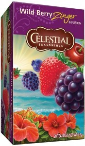 Celestial Seasonings Wildberry Zinger Tea 20Teabags