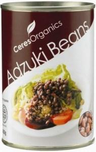 Ceres Organics Adzuki Beans 400g (Can)