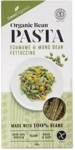 Ceres Organics Bio Bean Pasta Edamame & Mung Bean Fettuccine 200g