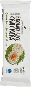 Ceres Organics Bio Brown Rice Crackers Seaweed  115g