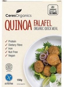 Ceres Organics Bio Quinoa Falafel Quick Meal  150g