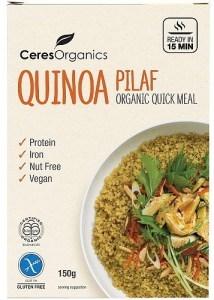 Ceres Organics Bio Quinoa Pilaf Quick Meal  150g
