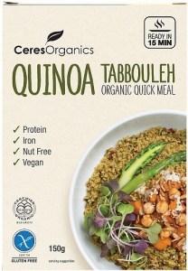 Ceres Organics Bio Quinoa Tabbouleh Quick Meal  150g
