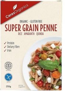 Ceres Organics Bio Supergrain Penne Pasta  250g