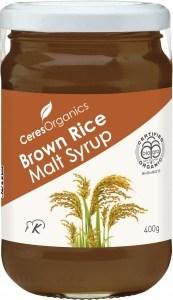 Ceres Organics Brown Rice Malt Syrup 400g