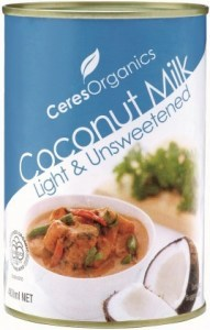 Ceres Organics Coconut Milk 400ml (Can)