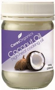 Ceres Organics Coconut Oil High Heat 184g AUG15