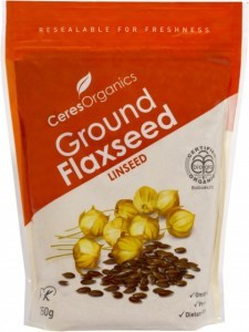 Ceres Organics Flaxseed Ground 250g (Grnd Linseed)