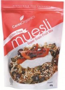 Ceres Organics Muesli Gluten Free 400g