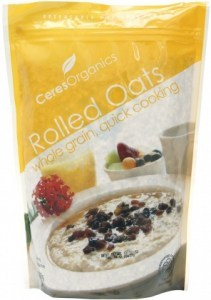 Ceres Organics Oats Rolled Quick Cook 600g