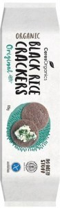 Ceres Organics Organic Black Rice Crackers Thailand's Riceberry  115g