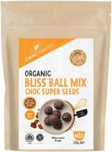Ceres Organics Organic Bliss Ball Mix Choc Super Seeds 220g