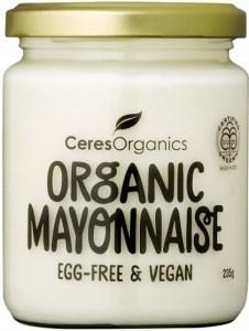 Ceres Organics Organic Mayonnaise Egg Free 235g