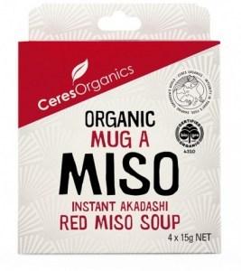 Ceres Organics Organic Mug A Miso 4x15g