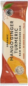 Ceres Organics Organic Raw Food Bar Mango Ginger Turmeric 50g