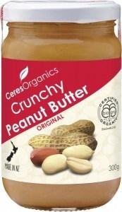 Ceres Organics Peanut Butter Crunchy Original 300g