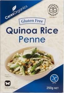 Ceres Organics Quinoa Penne Pasta  250g