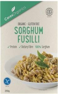 Ceres Organics Sorghum Fusilli  250g