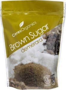 Ceres Organics Sugar Brown 500g (Demerara)