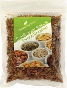 Ceres Organics Sunflower Seeds Tamari Roasted 150g