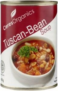 Ceres Organics Tuscan Bean Soup 400g (Can)