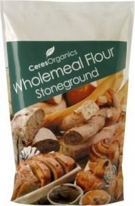 Ceres Organics Wholemeal Flour Stoneground 1kg