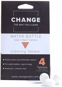 Change Water Bottle Cleaning Tablets (4 Tablets Pouch)