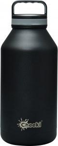 Cheeki Chiller Insulated Bottle Black 1.9L