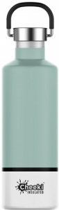 Cheeki Classic Stainless Steel Insulated Pistachio Bottle 600ml