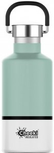 Cheeki Classic Stainless Steel Insulated Pistachio White Bottle 400ml