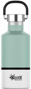 Cheeki Classic Stainless Steel Insulated Pistachio White Bottle 400ml