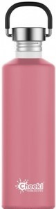 Cheeki Classic Stainless Steel  Pink Bottle 750ml