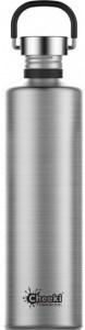 Cheeki Classic Stainless Steel Silver Bottle 1L
