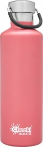 Cheeki Insulated Classic Bottle Pink 600ml