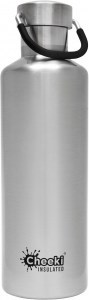 Cheeki Insulated Classic Bottle Silver 600ml