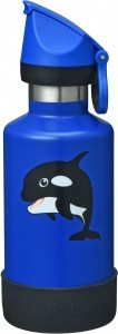 Cheeki Insulated Kids Bottle Orca 400ml