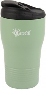 Cheeki Insulated Reusable Coffee Cup Pistachio 310ml