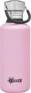 Cheeki Stainless Steel Classic Bottle Pink 500ml