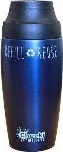 Cheeki Stainless Steel Coffee Mug Ocean 450ml