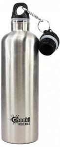 Cheeki Stainless Steel Insulated Silver 600ml