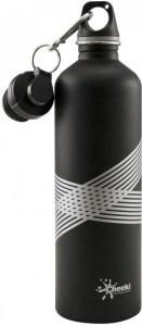 Cheeki Stainless Steel Matt Black Bottle 750ml