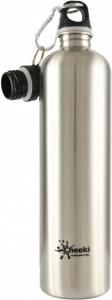 Cheeki Stainless Steel Silver Bottle 1L