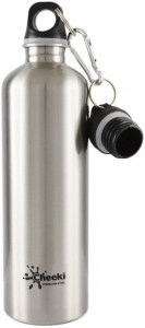 Cheeki Stainless Steel Silver Bottle 750ml