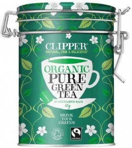 Clipper Caddy Fair Trade Organic Green 30Teabags