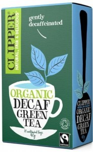 Clipper Fair Trade Organic Decaf Green Tea  20Teabags