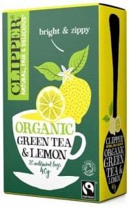 Clipper Fair Trade Organic Green Tea with Lemon 20Teabags