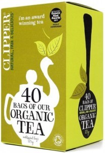Clipper Organic Black Everyday Tea  40Teabags