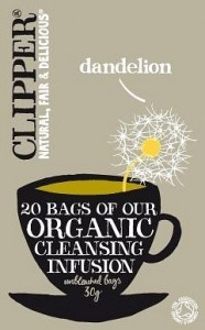 Clipper Organic Cleansing Infusion - Dandelion 20 Teabags