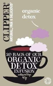 Clipper Organic Detox Infusion 20 Teabags